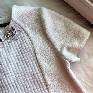 Ann Taylor Sweaters - Ann Taylor • Jeweled Neckline Sweater
